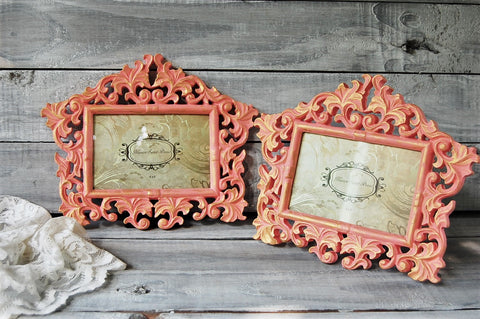 Ornate coral frames