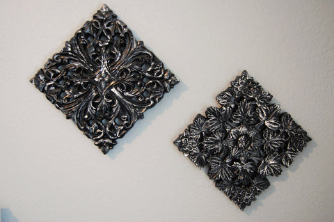 Black and white wall decor - The Vintage Artistry