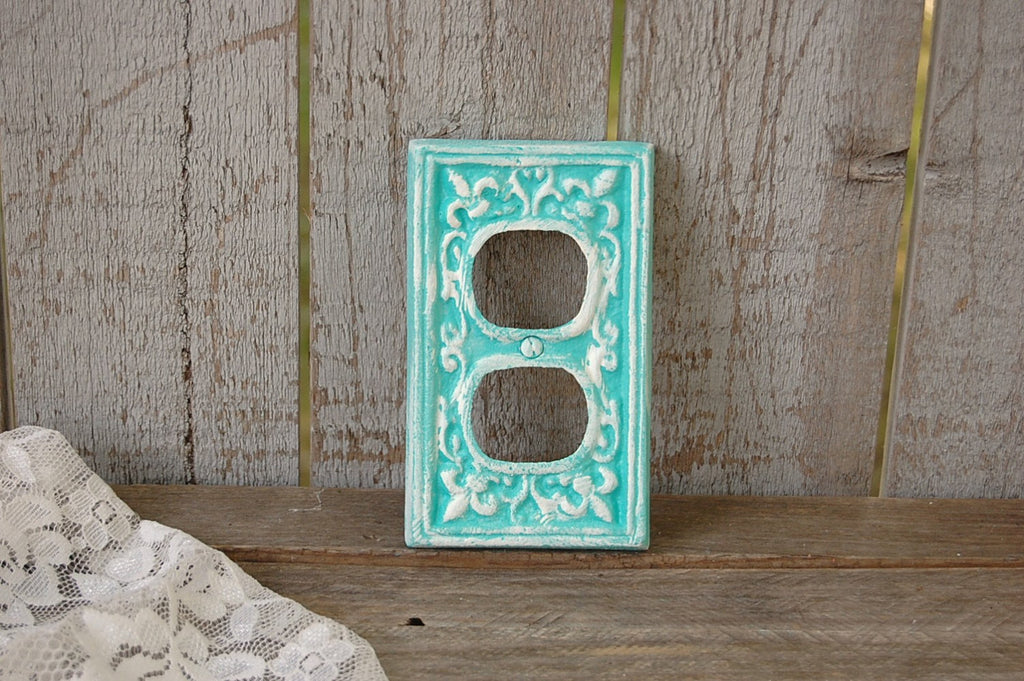 Aqua double outlet covers
