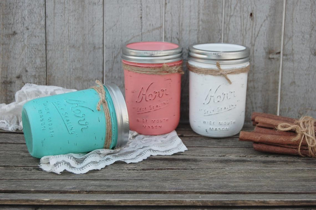 Coffee or spice jar set - The Vintage Artistry