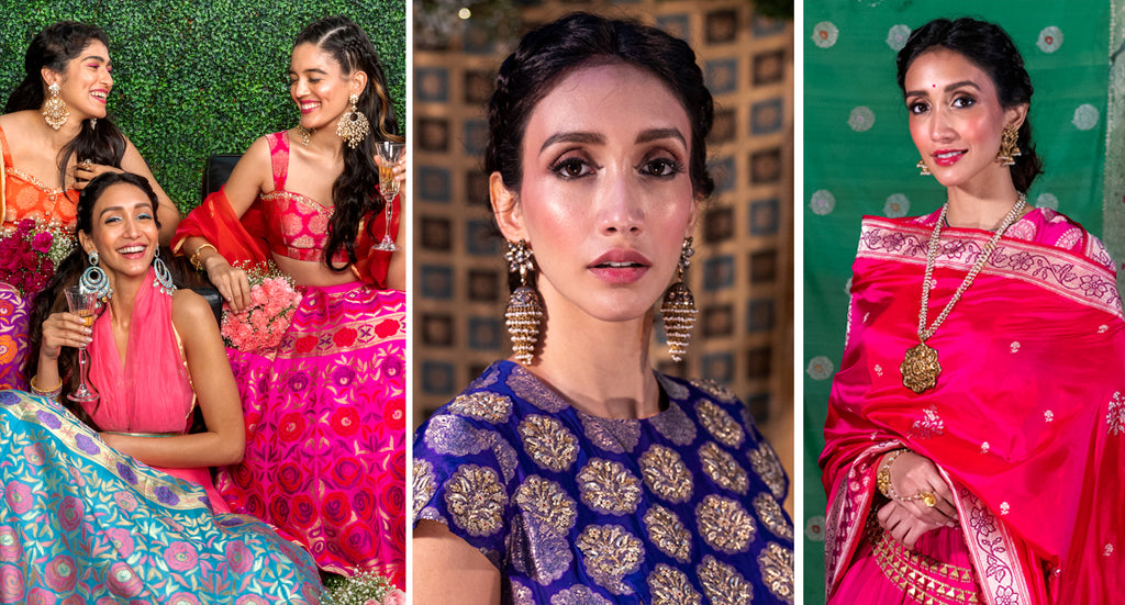Collaborations with Warp 'n Weft Bridal Bansari 2019