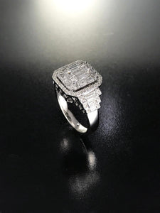 Iris Diamond Ring