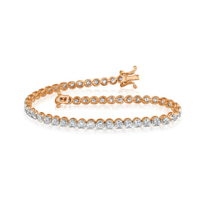 Sleek Diamond Bracelet