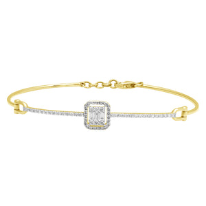 Grace Dazzling Diamond Studded Bracelet