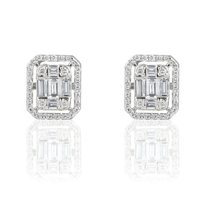 Alluring Diamond Studs