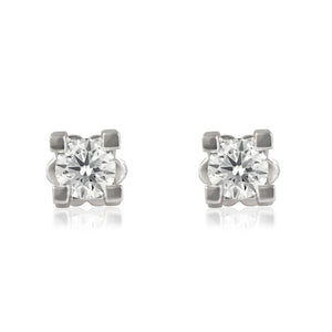 Grace Dazzling Diamond Square Studs