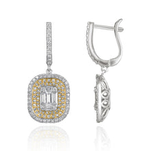 Grace Dazzling Diamond Drop Earrings