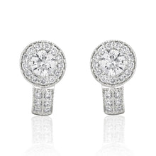 Grace Dazzling Diamond Earrings.