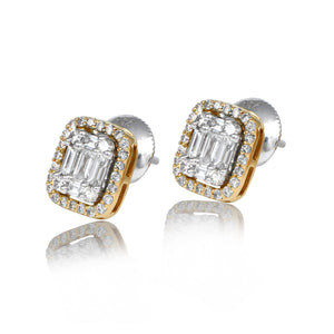 Fanciable Diamond Studs