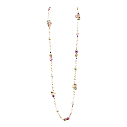 Florence Multi Sapphire Long Necklace