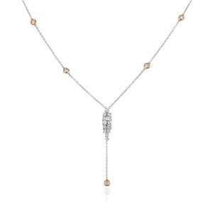 Pallene Drop Diamond Necklace