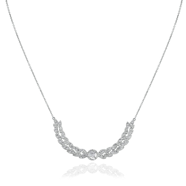 Grace Dazzling Diamond Necklace.