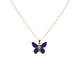 Perched Butterfly Necklace