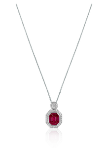 Ruby Burma Necklace