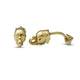 Tusker Gold & Ruby Cufflinks