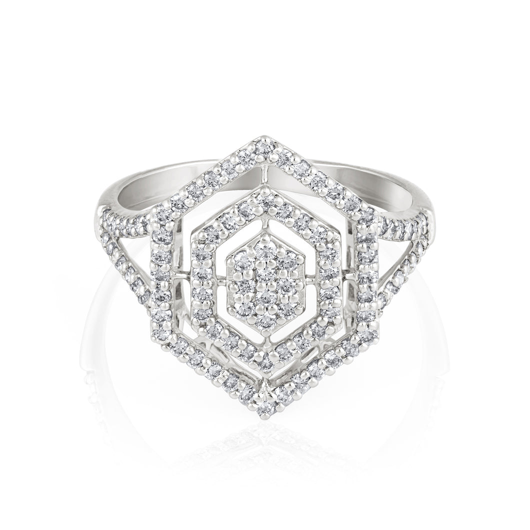Grace Dazzling Diamond Ring
