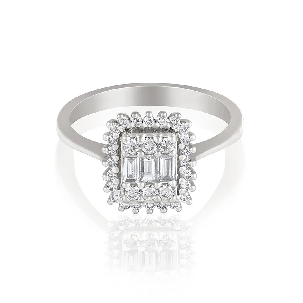 Grace Dazzling Diamond Ring.
