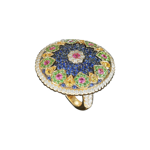 Florence Multi Sapphire Ring