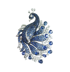 Florence Peacock Ring