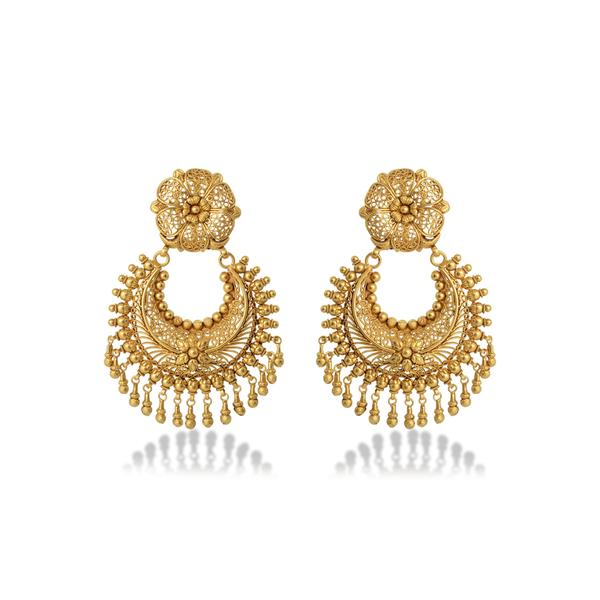 Elegant Gold Chandbali