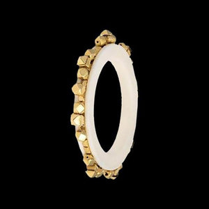 Stones Studded Gold Bangle