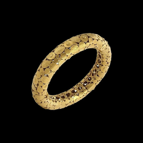 Filigree Gold Bangle