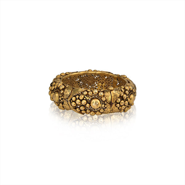 Classic Gold Ball Bangle.