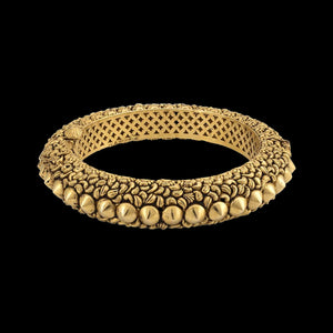 Intricately Crafted Gold Bangle