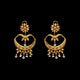 Ethnic Gold Earrings