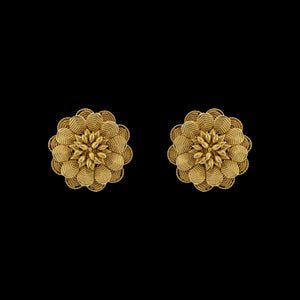 Classic Floral Earring