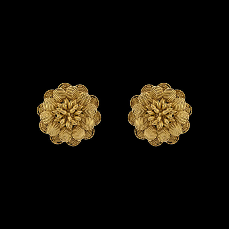 Classic Floral Studs