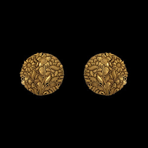 Classic Gold Earring Tops