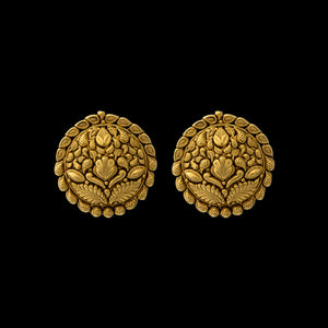 Classic 22k Yellow  Gold Earrings
