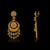 Gold Long Elegant Chandbali