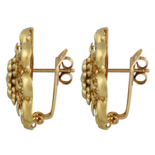 Classic Gold Earrings
