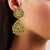 22kt Statement Gold Earring