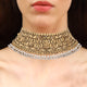Classic Gold Choker with Pearls