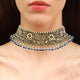 Contemporary Gold Choker