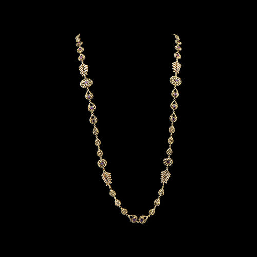 Classic Long Gold Necklace