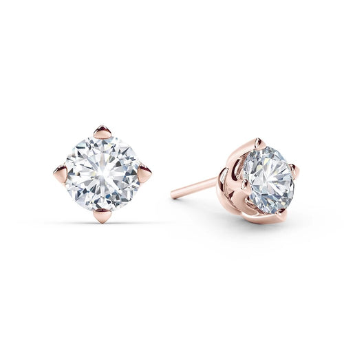 Solitaire Stud Earring 0.50 Pointer
