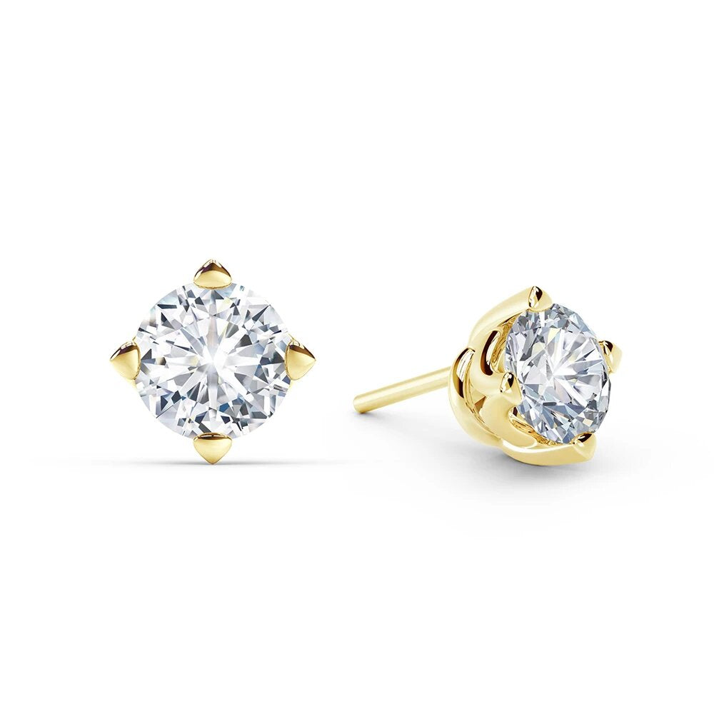 Solitaire Stud Earring 0.65 Pointer