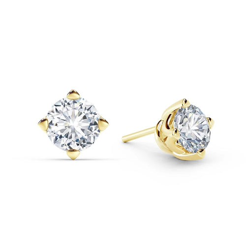 Solitaire Stud Earring 0.60 Pointer