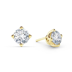 Solitaire Stud Earring 0.85 Pointer