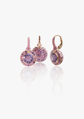 Florence Multi Sapphire Studded Earring