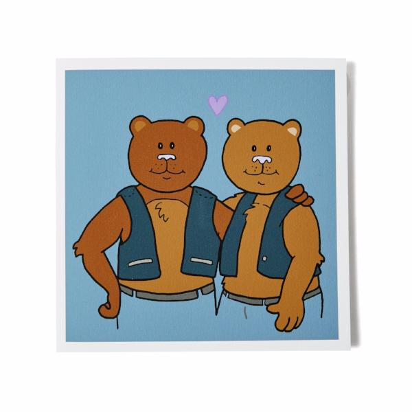 Kittenpants Studios Beary Happy Birthday Card | Nikki Darling Australia