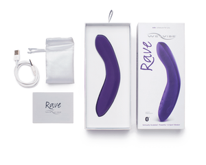 Rave by We-Vibe G-spot Vibrator - with packaging | Nikki Darling Australia
