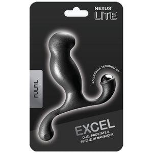 Nexus Excel Prostate Massager - Black in packaging | Nikki Darling Australia