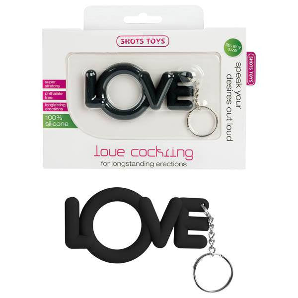 shots toys: love cock ring cock rings | nikki darling australia
