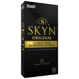 skyn non-latex condoms - 10 pack barrier protection | nikki darling australia