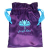 Purple Lotus Silk gift bag free with purchase